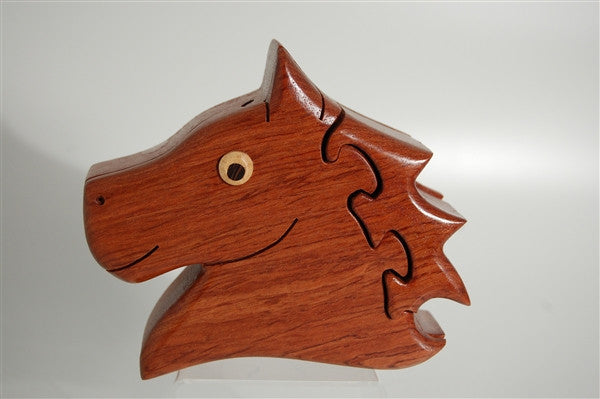 Horse Head puzzle box large - Boxology
