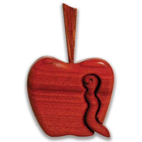 Small Apple Puzzle Box - Boxology