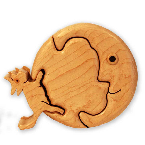 Cow Jumped Over the Moon Puzzle Box