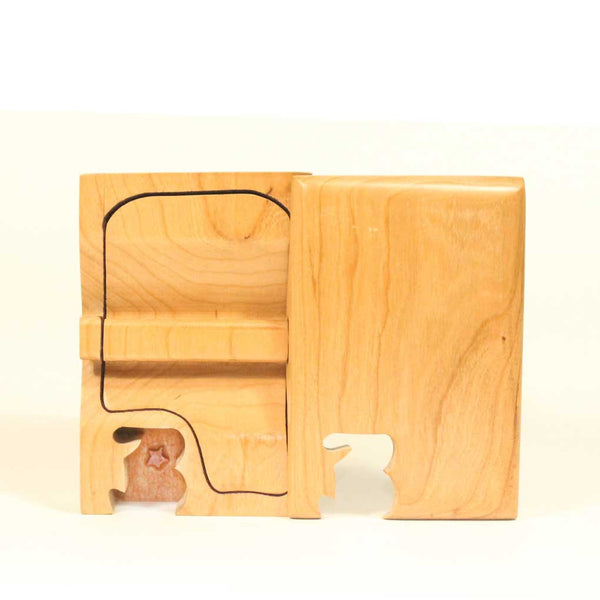 Basic Initial Key Puzzle Box B
