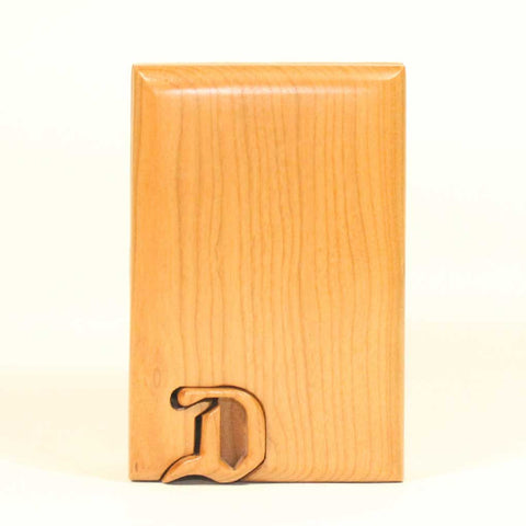 Basic Initial Key Puzzle Box D - Boxology