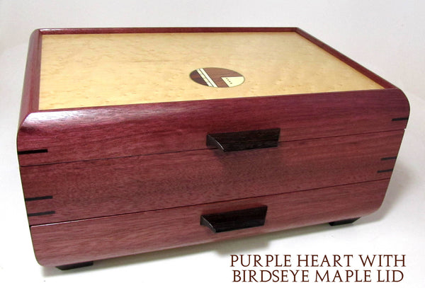 Large Jewelry Case with rounded sides