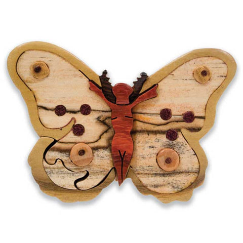 Butterfly Miniature Puzzle Box