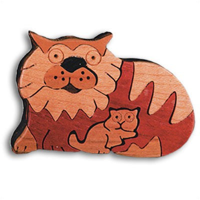 Cat Bi-Level Miniature Puzzle Box - Boxology