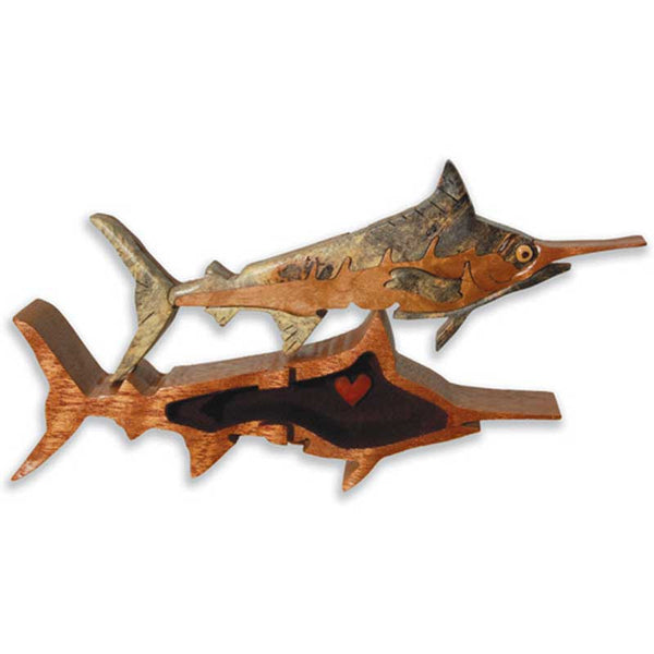 Marlin Miniature Puzzle Box - Boxology