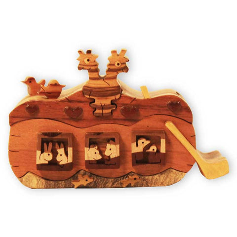 Noah's Ark Miniature Puzzle Box