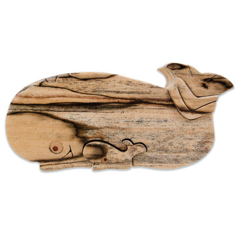 "Whale ""Jonah 'N Whale"" Miniature Puzzle Box - Boxology"