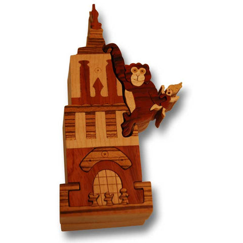 Empire State Building Miniature Puzzle Box