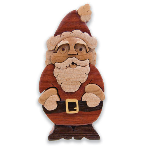 Jolly Santa Miniature Puzzle Box
