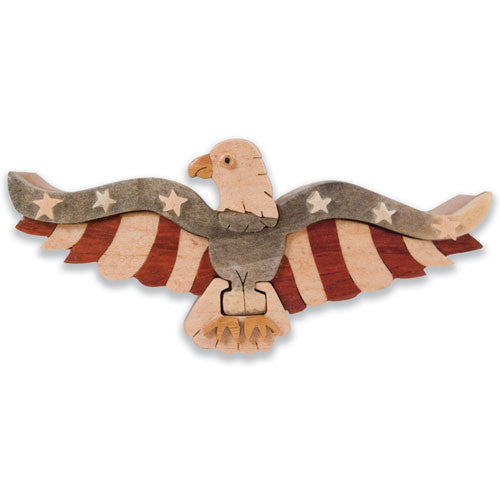 American Eagle Miniature Puzzle Box