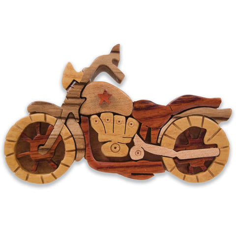 Motorcycle Miniature Puzzle Box