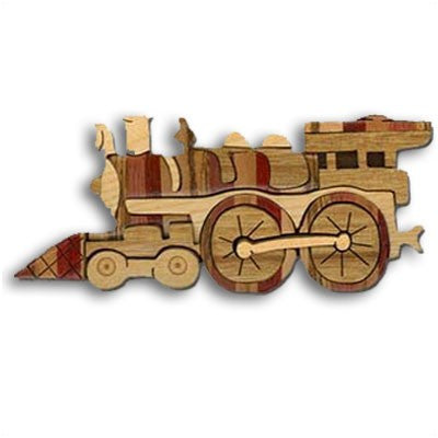 Locomotive Miniature Puzzle Box