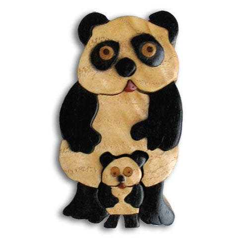 Panda Miniature Puzzle Box