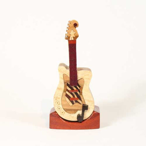 Electric Guitar 2 Miniature Puzzle Box - Boxology