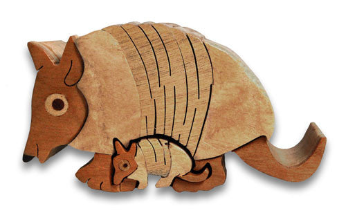 Armadillo Miniature Puzzle Box - Boxology