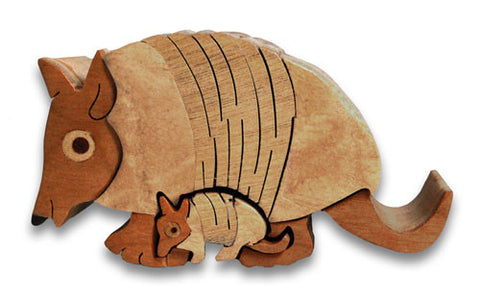 Armadillo Miniature Puzzle Box