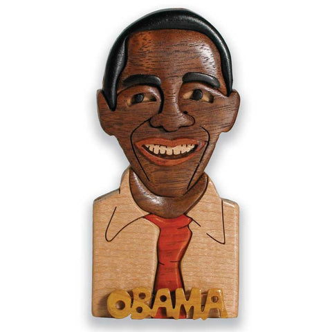 Obama Miniature Portrait Puzzle Box