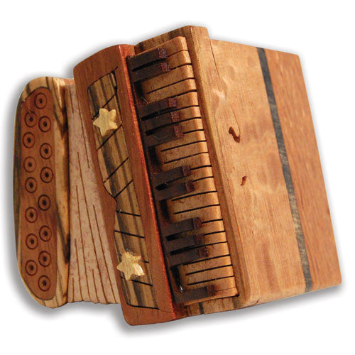 Accordion Miniature Puzzle Box - Boxology