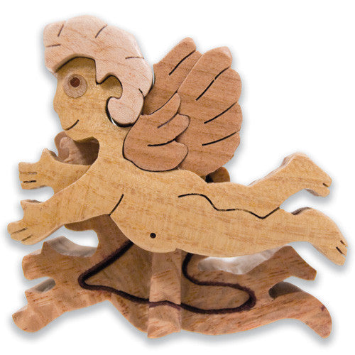 Angel Miniature Puzzle Box