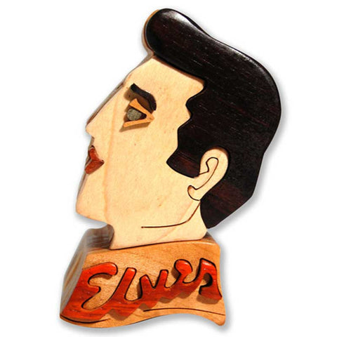 Elvis Miniature Puzzle Box