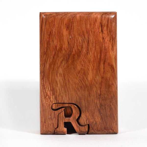 Basic Initial Key Puzzle Box R - Boxology