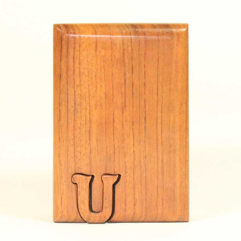 Basic Initial Key Puzzle Box U