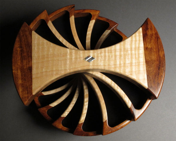 Helical Jewelry Box with Secret Compartment - Boxology