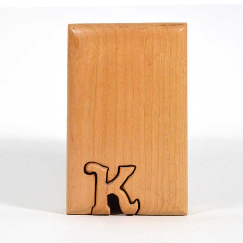 Basic Initial Key Puzzle Box K - Boxology