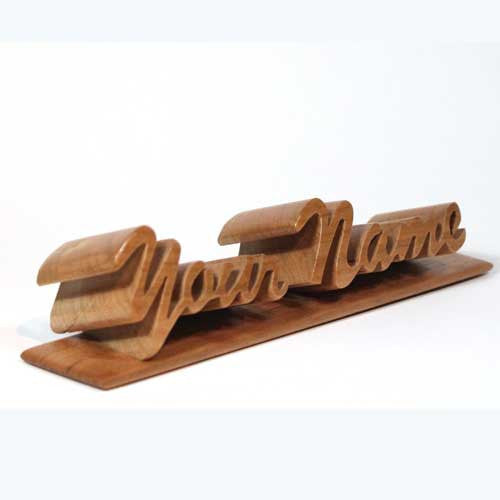 Personalized Name Plate - Boxology