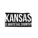 Kansas is Whitetail Country Metal Sign