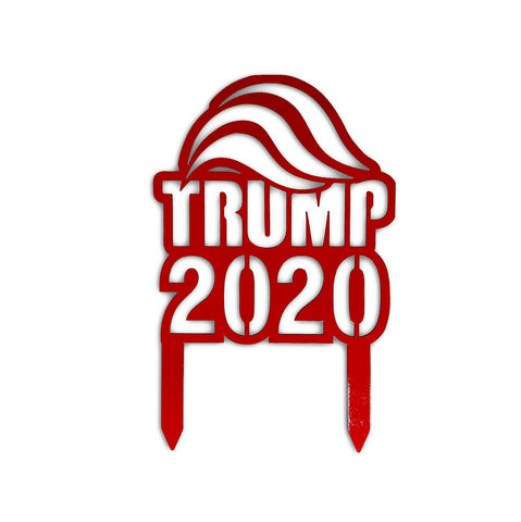 Trump 2020 Metal Yard Lawn Sign