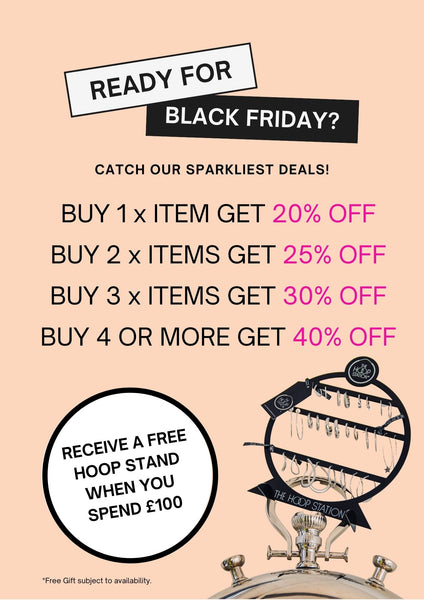 THE HOOP STATION - shop our Black Friday HOOPTASTIC Special