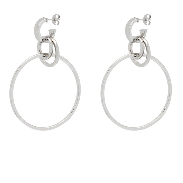 ad6f05af7 La HULA HULA - Gold - The Hoop Station 925 Sterling Silver Hoop Earrings  Gold Huggies