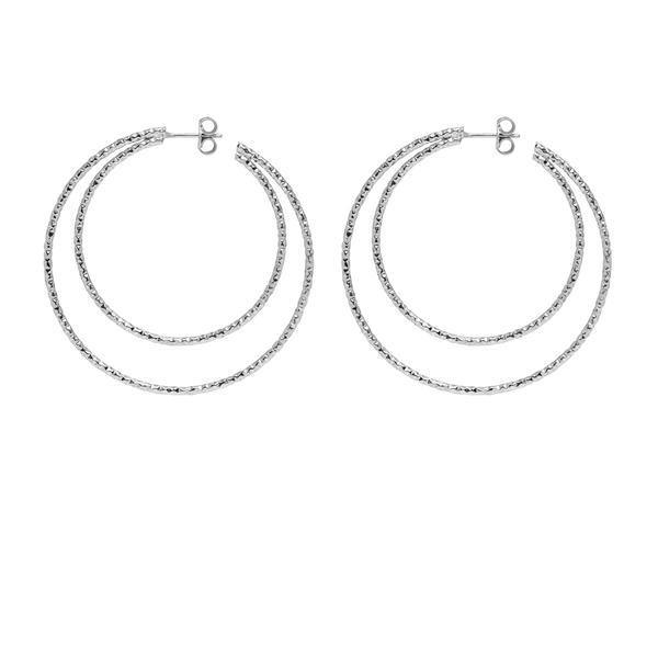 La DOPPIA SARDEGNA Gold - The Hoop Station 925 Sterling Silver Hoop Earrings Gold Huggies