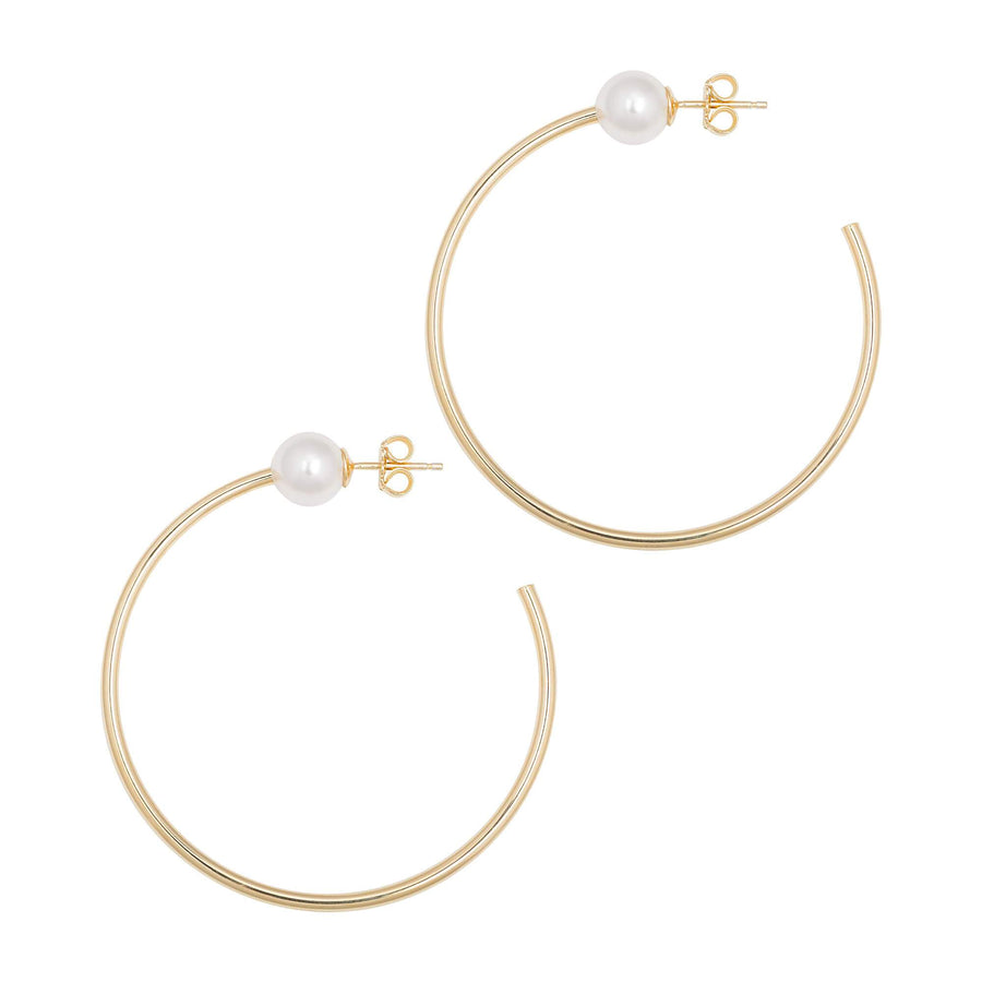 La PERLA Hoops - Gold - The Hoop Station 925 Sterling Silver Hoop Earrings Gold Huggies