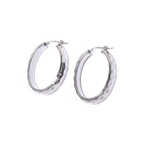 La METALLIC Oval Hoops - SALE