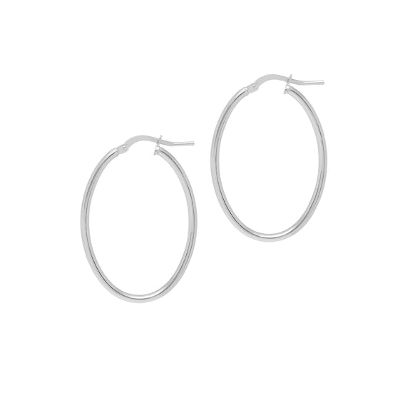 La ISOLA BELLA - Silver - The Hoop Station 925 Sterling Silver Hoop Earrings Gold Huggies