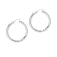 La TUBO - Silver - The Hoop Station 925 Sterling Silver Hoop Earrings Gold Huggies