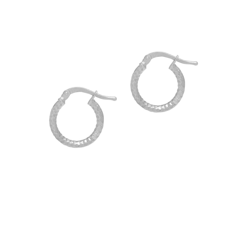 La SERPENTE Huggies - Gold or Silver - The Hoop Station 925 Sterling Silver Hoop Earrings Gold Huggies