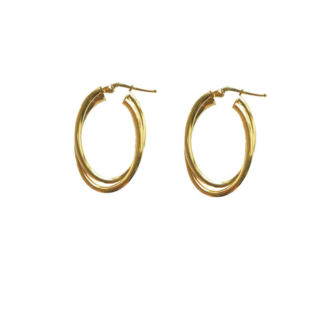 LA OVAL TWIST - Gold - SALE