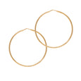 La ROMA Gold Medio Hoops