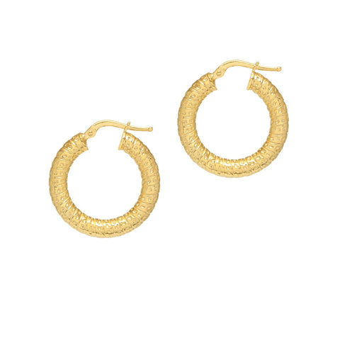 La TOSCANA Small Gold Hoops
