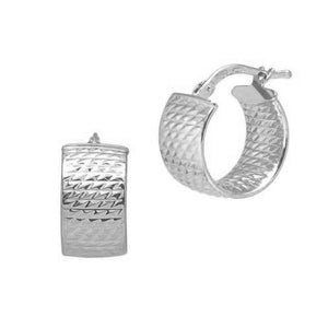 La CHISELLED CUFFS - Sale - The Hoop Station 925 Sterling Silver Hoop Earrings Gold Huggies
