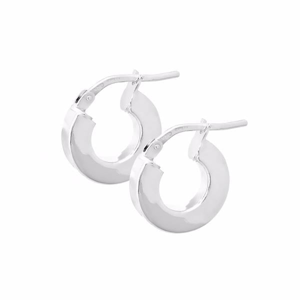 La VENTIMIGLIA Huggies - The Hoop Station 925 Sterling Silver Hoop Earrings Gold Huggies