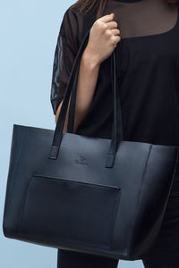 Black Leather Bag | UDRAA