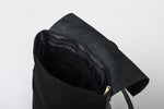 Load image into Gallery viewer, Handmade Leather Backpack in Black - Geneva