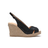 Giselle Black - wedge sandal
