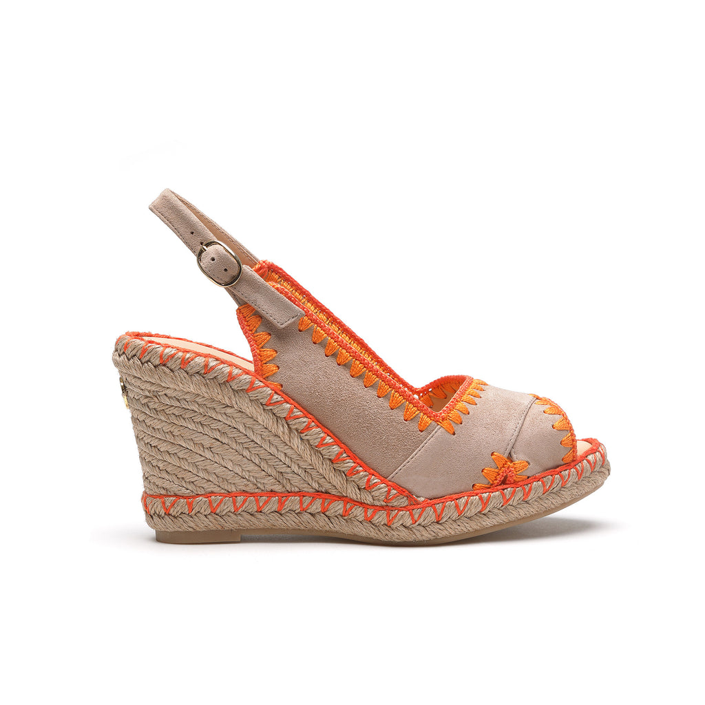 Giselle Sunset - wedge sandal