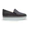 Elisabeta Black - platform slip-on skater