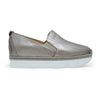 Elisabeta Gold - platform slip-on trainer